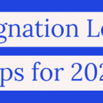Top Tips to Write Resignation Letter in 2020