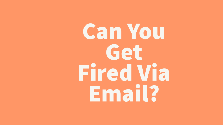 fired via email