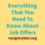 Everything You Need To Know About Job Offers