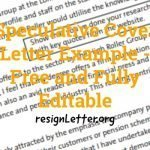 Speculative Cover Letter Example - Free and Fully Editable