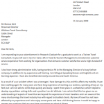 disability disclosure cover letter example